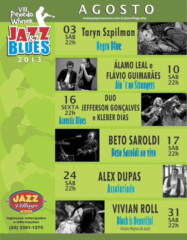 8º Penedo Winter Jazz & Blues 2013