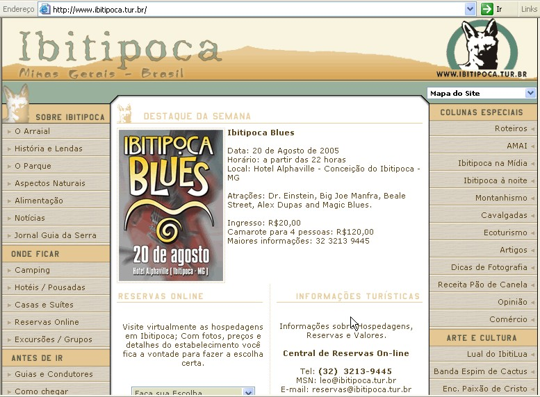 Ibitipoca Blues 20-08-2005