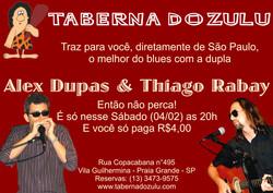 Taberna do Zulu 04-02-2012