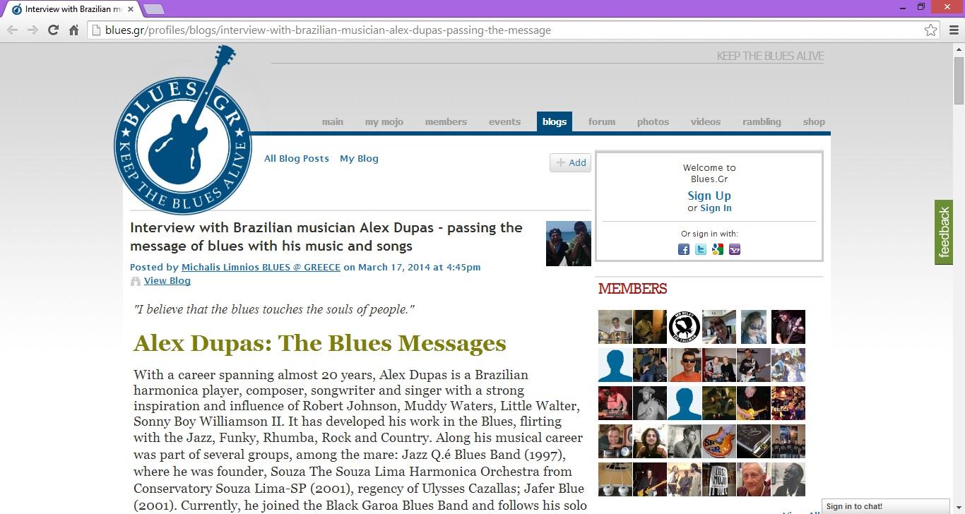 Blues GR - 17-03-2014