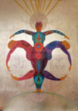 union des polarités yin yang
