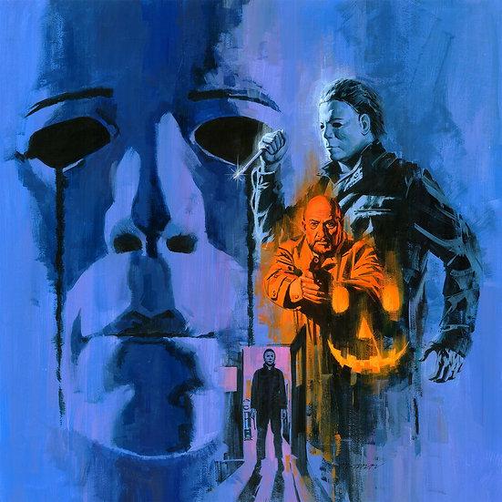 Halloween II - Deathwaltz Records Orange Vinyl