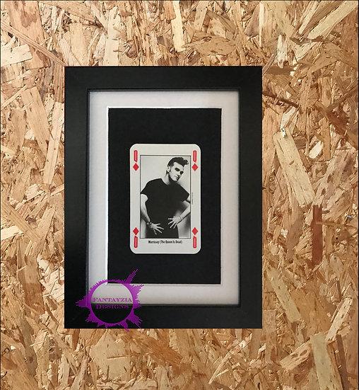 Morrisey NME Framed Vintage Card