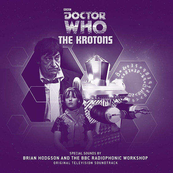 Doctor Who / Krotons / BBC Radiophonic (10 inch EP)
