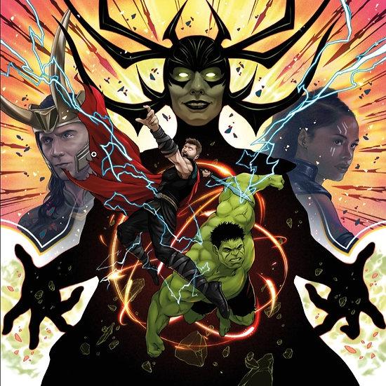 Thor Ragnork OST 2 x LP Swirled Vinyl Mondo