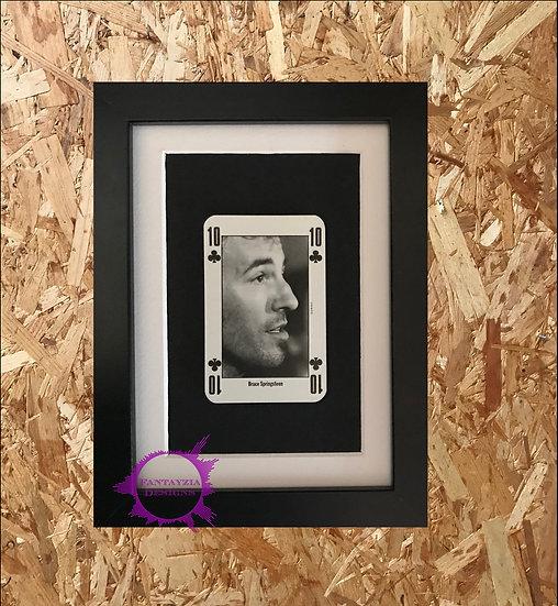 Bruce Springsteen NME Framed Vintage Card