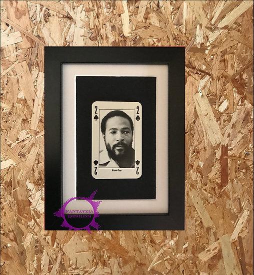 Marvin Gaye NME Framed Vintage Card