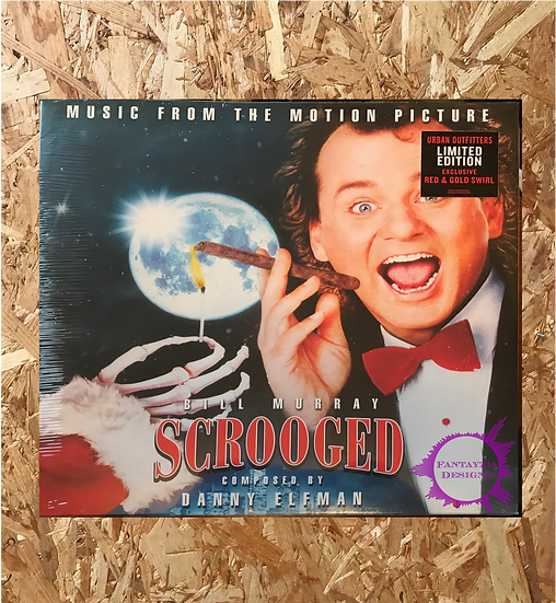 Scrooged (Music From The Motion Picture) by Danny Elfman - Limited LP