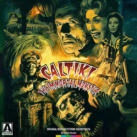 Arrow Records Caltiki The Immortal Monster (1LP Black)