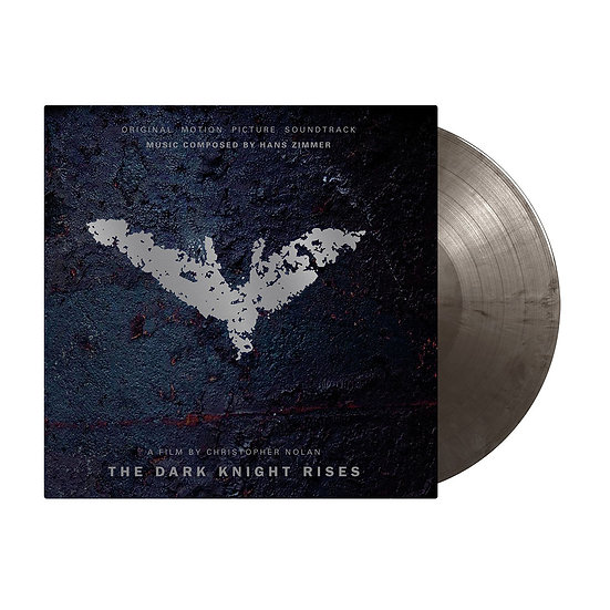 Dark Knight Rises Vinyl (inc. Lithograph and Magnet)