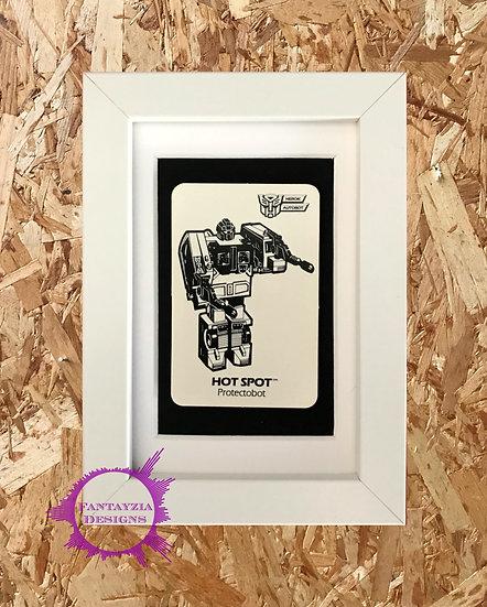 Transformers Vintage Card - Hot Spot