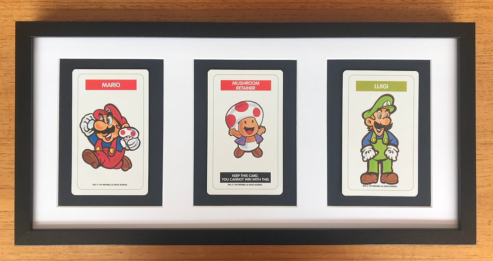 Super Mario Bros Trio Picture