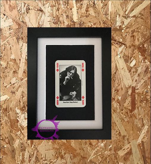 Shaun Ryder (Happy Mondays) NME Framed Vintage Card