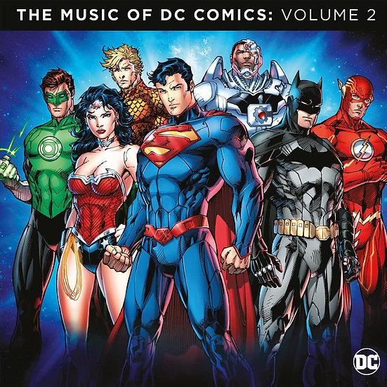 Music Of DC Comics Vol.2 (2LP/Coloured)