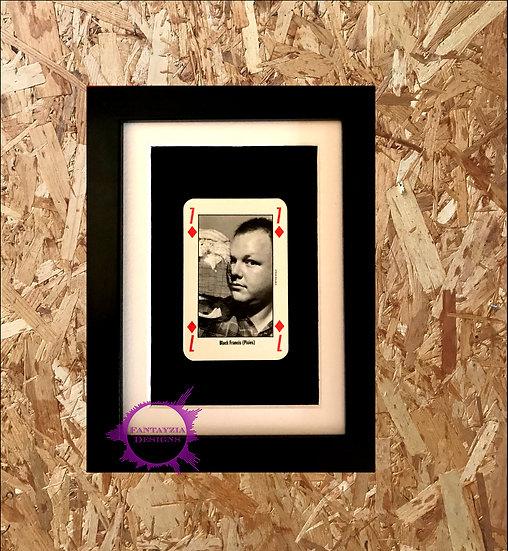 Black Francis (The Pixies) NME Framed Vintage Card