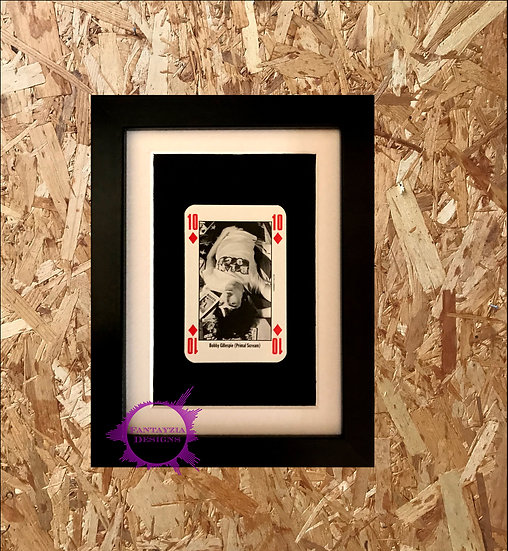 Bobby Gillespie (Primal Scream) NME Framed Vintage Card