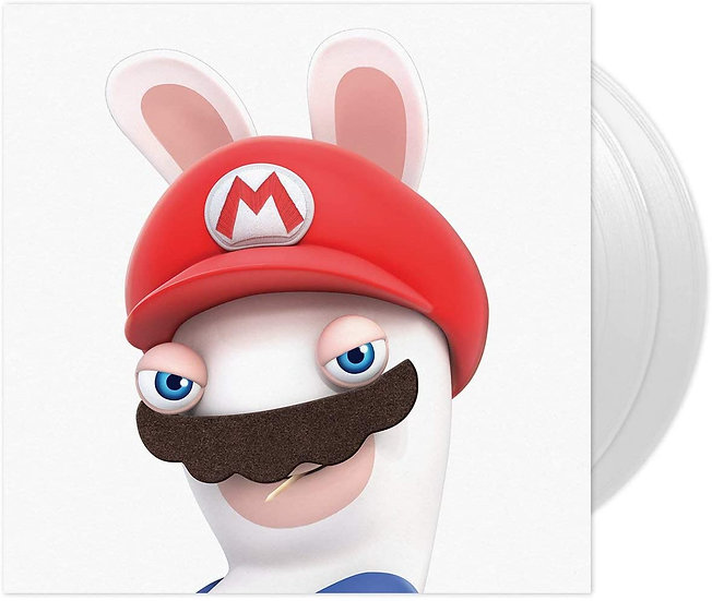 "Mario + Rabbids Kingdom Battle VINYL 12"" Album (Clear vinyl) 2 discs"