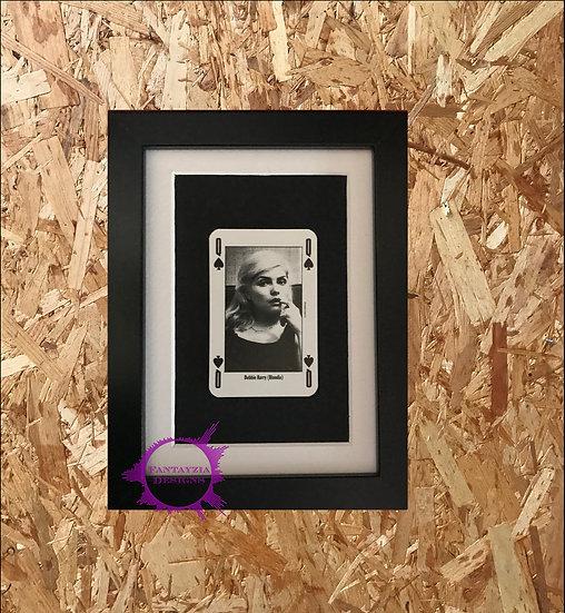 Debbie Harry (Blondie) NME Framed Vintage Card