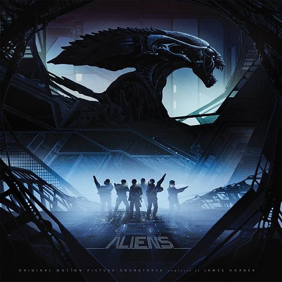 Aliens Soundtrack - Pre-Owned - Black Vinyl