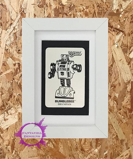 Transformers Vintage Card - Bumblebee