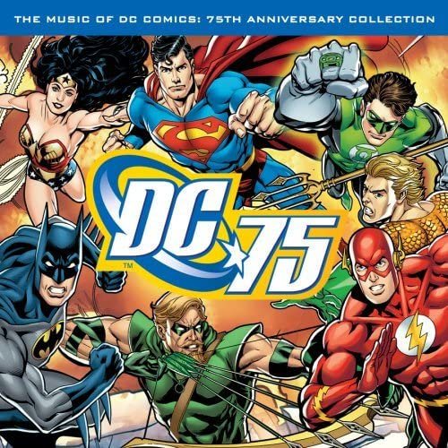 Music of DC Comics (1LP Coloured Red)