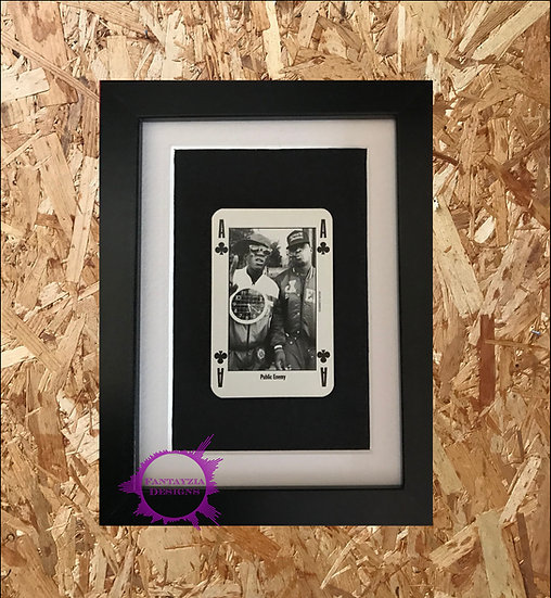 Public Enemy NME Framed Vintage Card