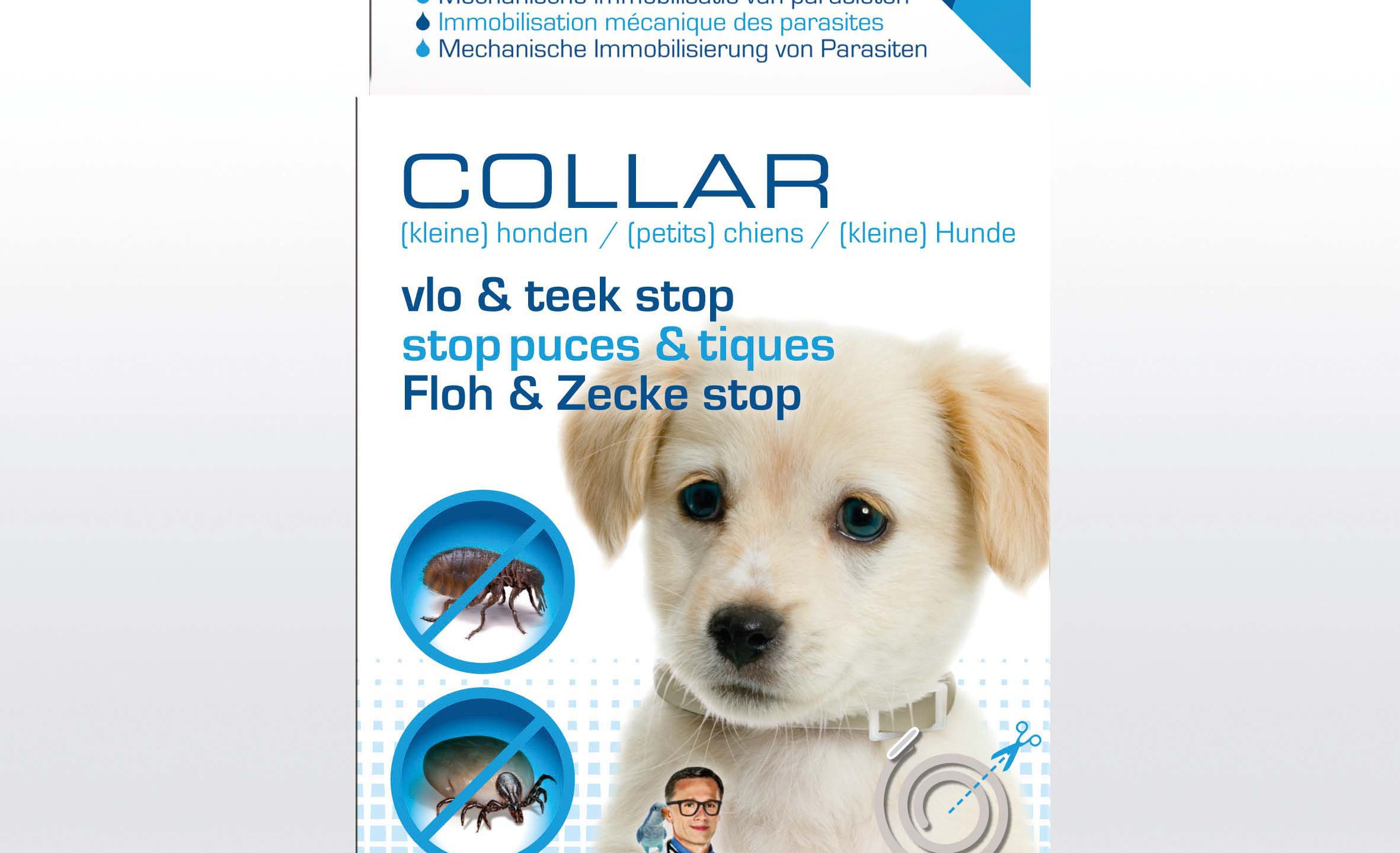 The Pet Doctor Collar hond