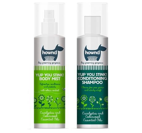 yup you stink! body mist en shampoo