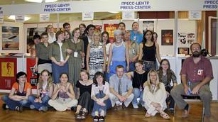 Команда СИВ-Медиа, 2004 год.            PR-кампания 26-го ММКФ - Россия, Германия, Франция