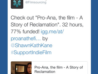 Another endorsement: @Filmsourcing throws us their support!