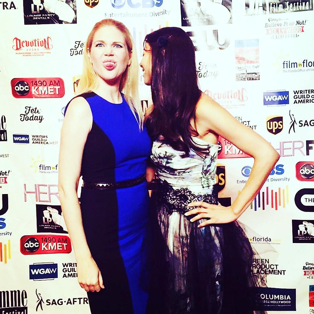 Iris McAlpin & Shawn Kathryn Kane at LA Femme Film Festival