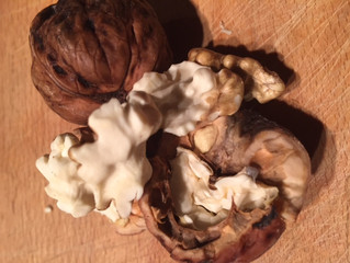The world has gone Nuts! Wet Walnuts