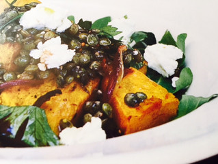 Smoked lentil, garlic & Broccoli Salad, an Autumn warmer!