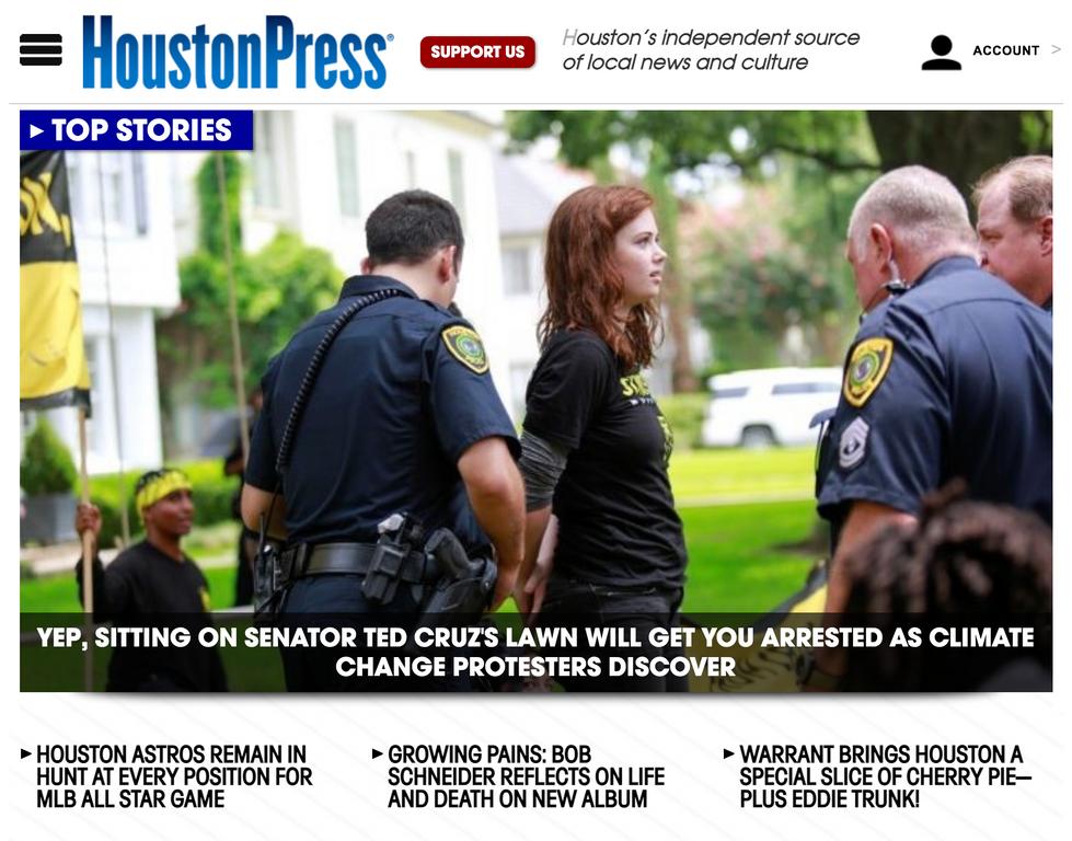 Houston Press // June 21st, 2021