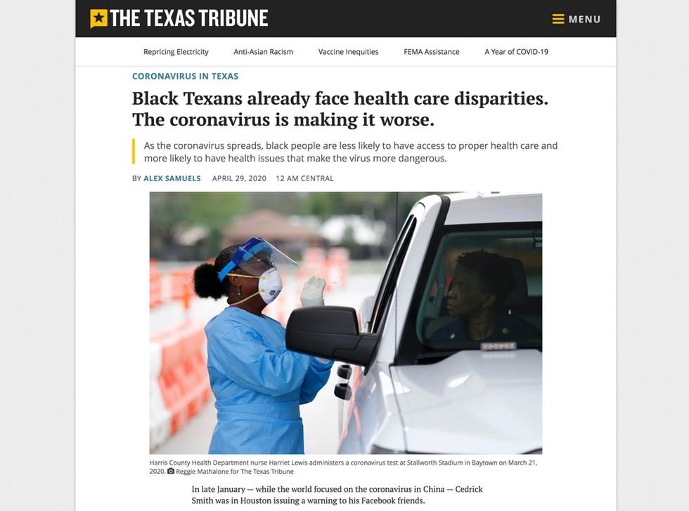 The Texas Tribune // April 29th, 2020