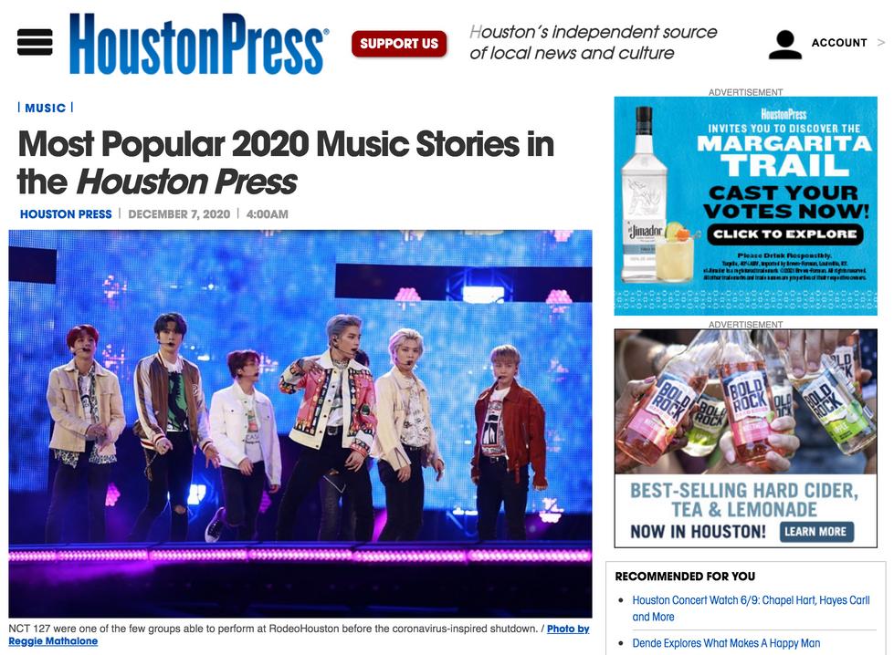 Houston Press // December 7th, 2020