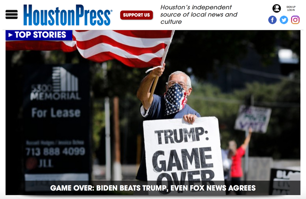 Houston Press // 2020