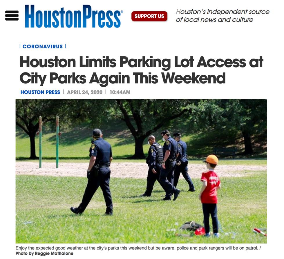 Houston Press // April 24th, 2021