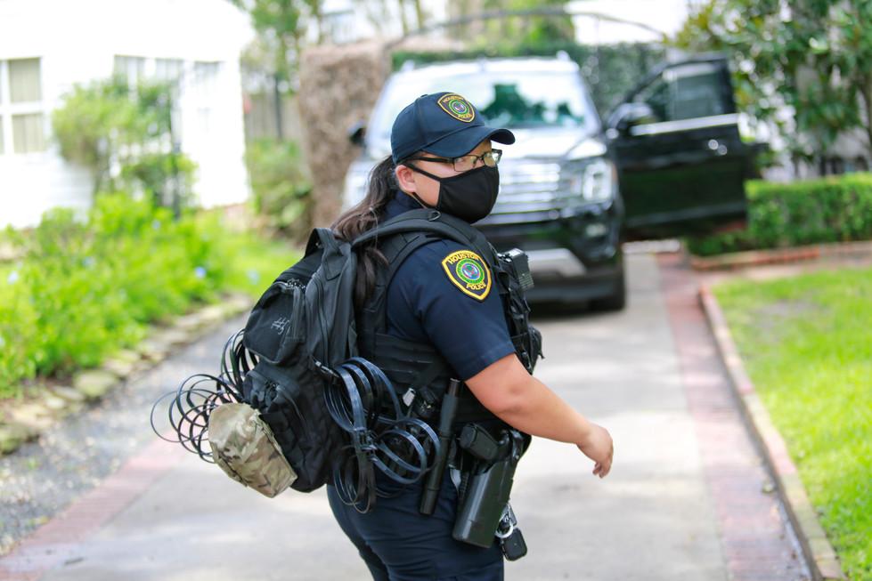 Climate Activists Arrested at Sen. Ted Cruz's Home - NurPhoto // June, 2021