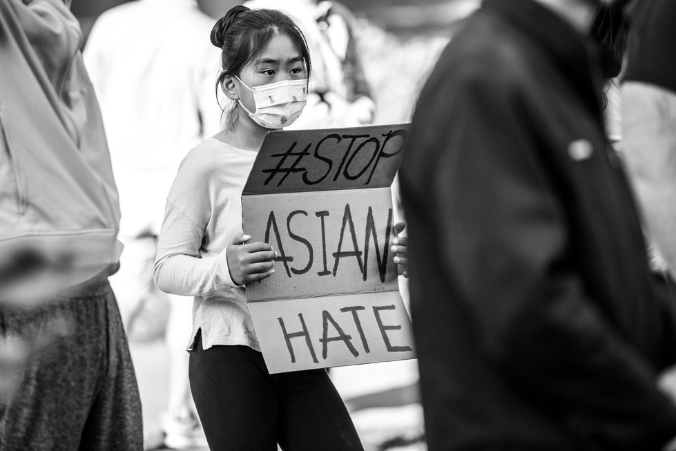 Stop Asian Hate Rally - NurPhoto // March 20th, 2021