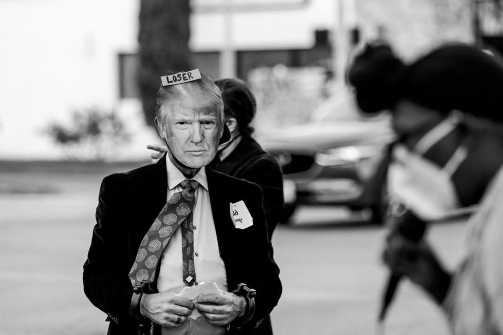 Refuse Fascism Protest in Houston // November 14, 2020