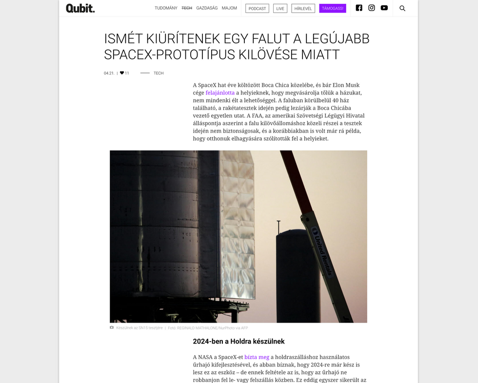 Qubit. // April 21st, 2021