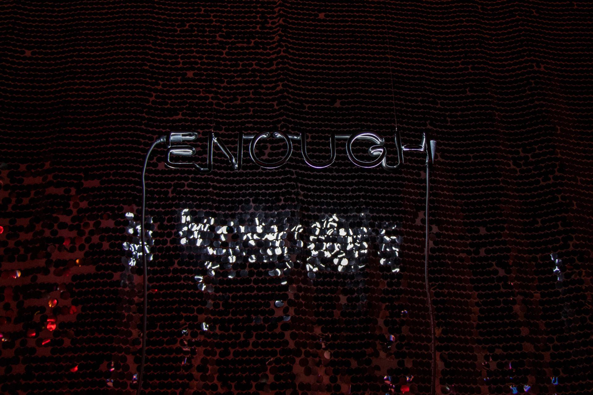 """""""Enough"""" - Sarah Blood"""