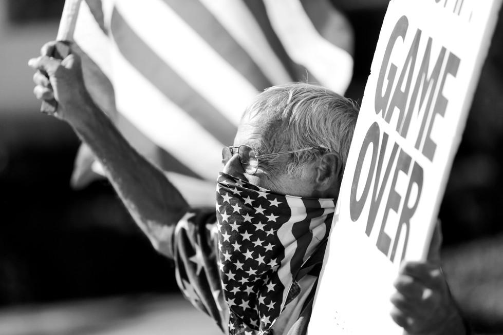 Ira Protests Outside Senator John Cornyn's Office // 2020