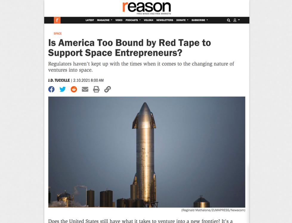 Reason Magazine // February 10th, 2021
