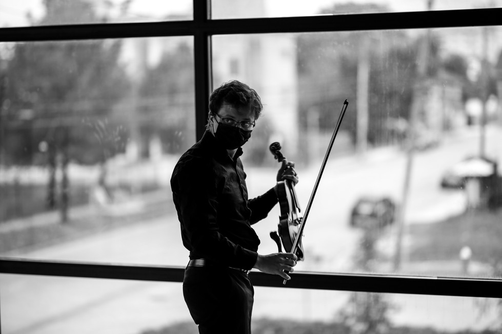 Carya String Quartet Rehearsal // April 9th, 2021