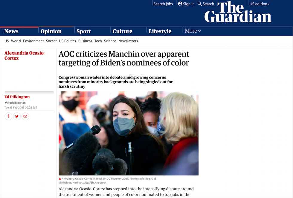 The Guardian // February 23rd, 2021