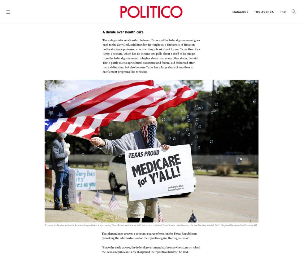 Politico // May 5th, 2021