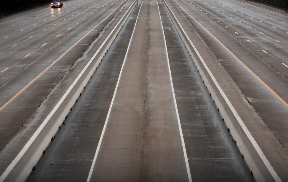 Empty Freeway - Houston Press // 2020