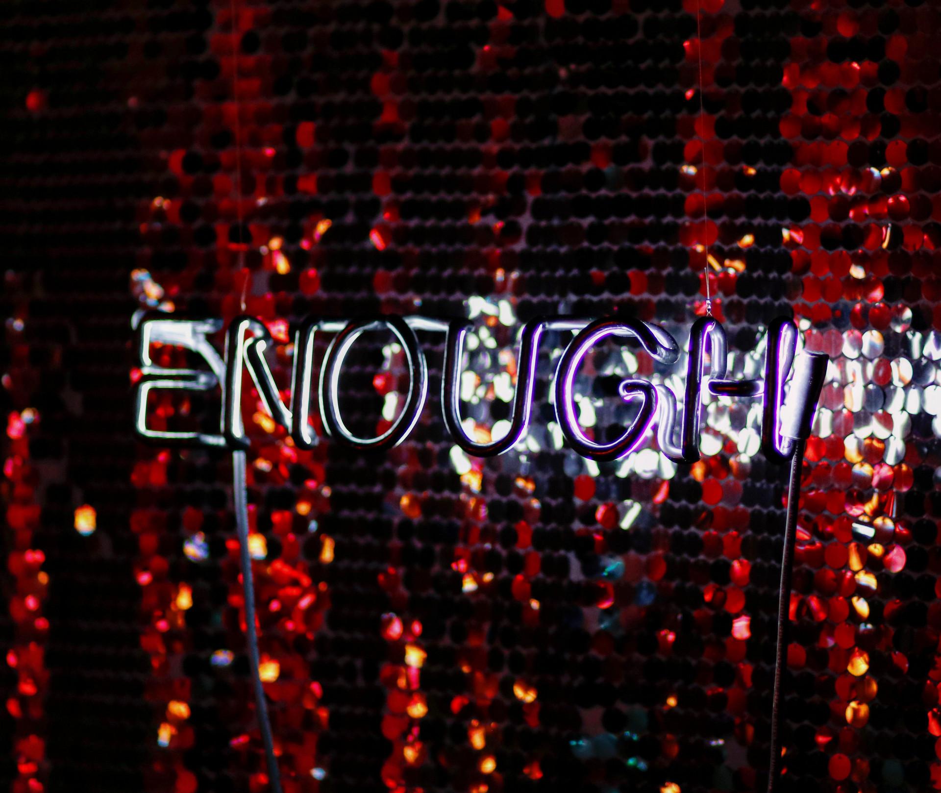 """""""Enough"""" - Sarah Blood // 2018"""